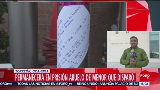 FOTO: 19 enero 2020, abuelo de menor del colegio cervantes permanecera en prision