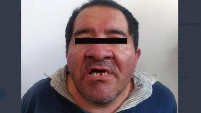 """Foto: Víctor Manuel """"N, de 48 años de edad, fue sorprendido por pacientes de un hospital cuando realizaba tocamientos a un niño de siete años"""