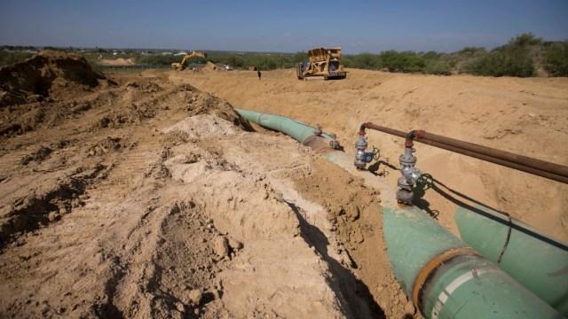 Foto: Acusa AMLO posible sabotaje para frenar producción de gas en Pemex