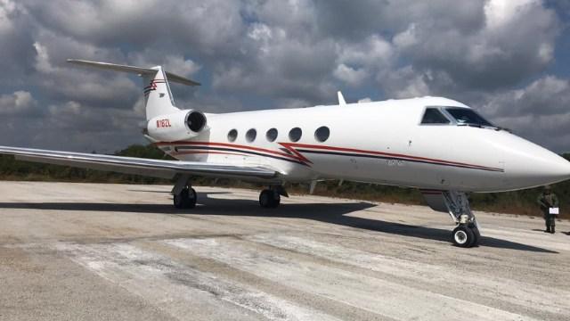 FOTO: Avión que sale de Argentina es decomisado en México con cocaína, el 29 de enero de 2020