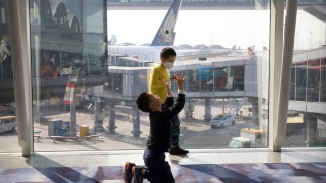 Foto: Extreman medidas de seguridad en Aeropuertos por coronavirus.