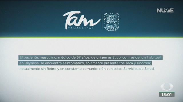 FOTO: alerta sanitaria en tamaulipas por posible caso de coronavirus