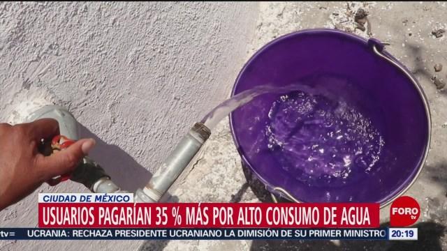 Foto: Cdmx Colonias Pagarán Más Consumo Agua Potable 17 Enero 2020