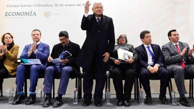 FOTO: AMLO trabaja de la mano con el gobierno de Chihuahua, el 11 de enero de 2020