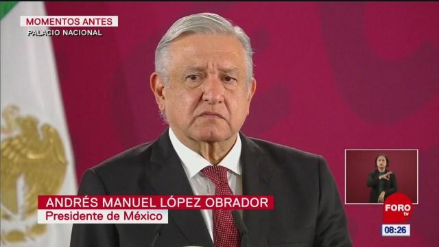 amlo refrenda que se hara valer el derecho de asilo por caso bolivia