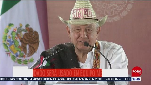 Foto: Amlo Avión Presidencial Reitera No Subirá 17 Enero 2020