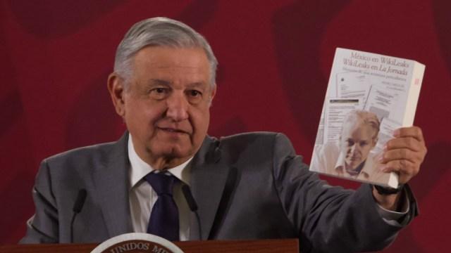 Foto: AMLO: Revelaciones de WikiLeaks sobre México son ciertas. (Cuarto Oscuro)