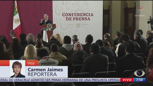 amlo uso de gases lacrimogenos contra migrantes es caso aislado