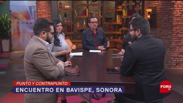 Foto: Amlo Visita Bavispe Avances Investigación Ataque LeBarón 13 Enero 2020