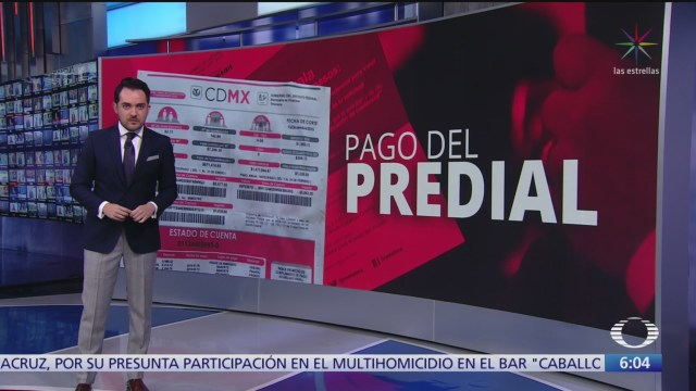 anuncian plan de descuentos en pago anticipado de impuestos en cdmx