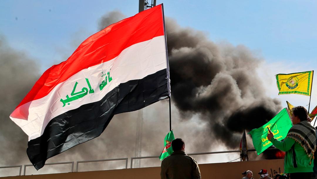 Reportan ataque con cohetes contra embajada de EEUU en Irak