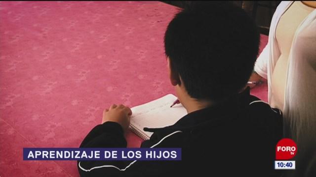 aprendizaje de los hijos