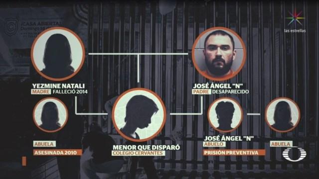 Foto: El fiscal general del estado señaló que se investiga a otros familiares y amigos que pudieran haber influido en la formación del menor