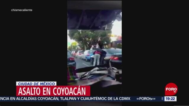 Foto: Asalto Automovilista División Del Norte CDMX Hoy 30 Enero 2020