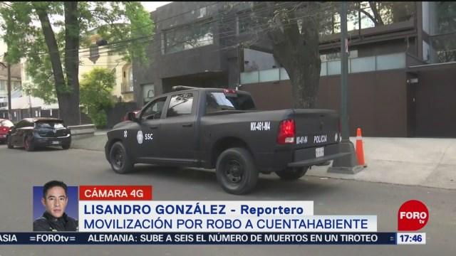 FOTO: asaltan a cuentahabiente en polanco y le roban 70 mil pesos