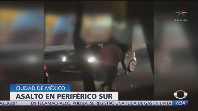asalto multiple al sur de la ciudad de mexico