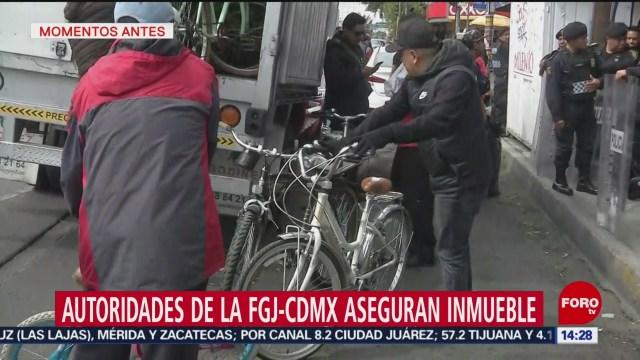 FOTO: aseguran mas de 70 bicicletas presuntamente robadas en santa maria la ribera