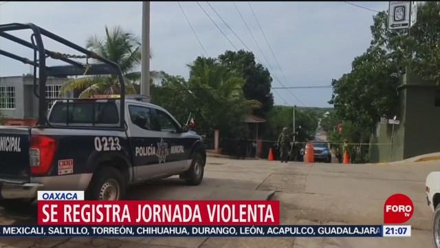 FOTO: 18 enero 2020, asesinan a dos personas en tututepec oaxaca