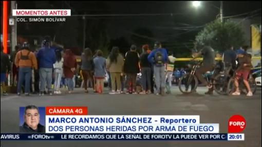 FOTO: 25 enero 2020, asesinan a hombre mientras caminaba con su pareja en la colonia simon bolivar