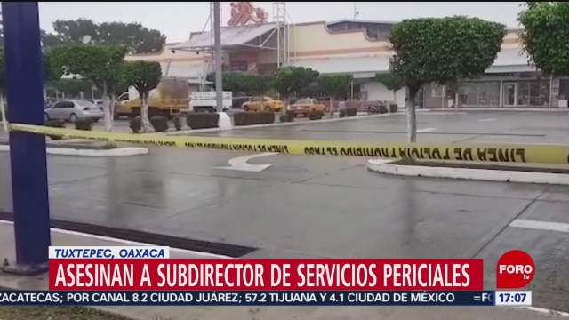 FOTO: 18 enero 2020, asesinan en oaxaca a subdirector del instituto de servicios periciales de oaxaca