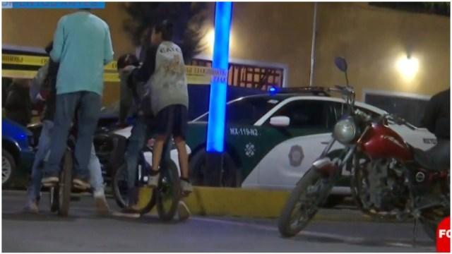 Foto: Asesinan a un hombre en calles de la Venustiano Carranza, 25 de enero de 2020 (Foro TV)