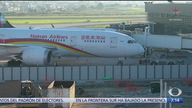asi revisan aviones procedentes de china por coronavirus
