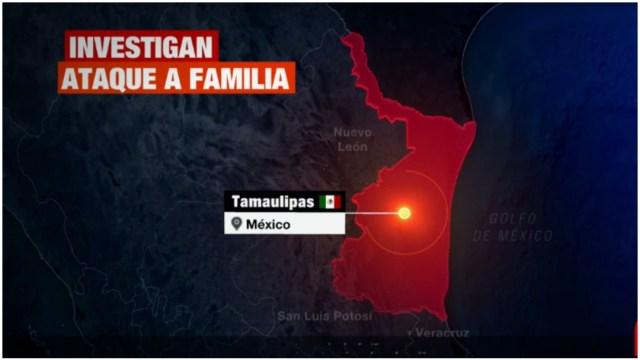 Imagen: Imagen ataque contra familia que viajaba a Estados Unidos, 5 de enero de 2020 (Foro TV)
