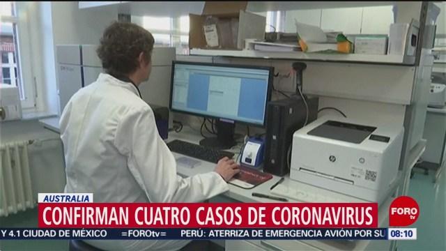 FOTO: 25 enero 2020, australia confirma cuatro casos de coronavirus