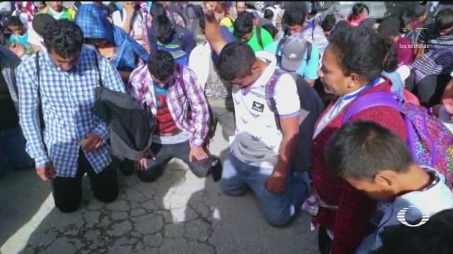Foto: Caravana Migrantes Hondureños Frontera Sur México 16 Enero 2020