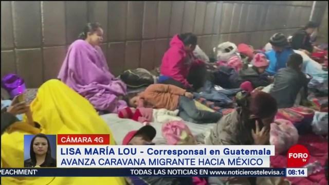 FOTO: 18 enero 2020, avanza caravana migrante que se dirige a eu