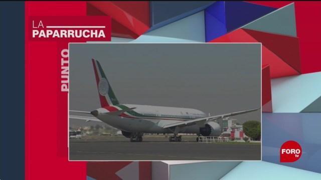 Foto: Avión Presidencial Regresa México Noticias Falsas 16 Enero 2020