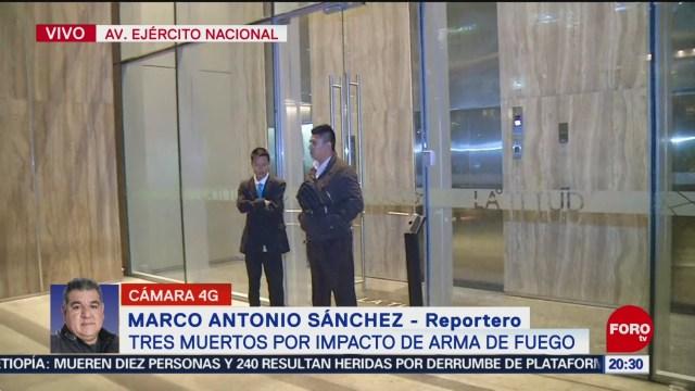 Foto: Balacera Corporativo Polanco Deja Tres Personas Muertas Hoy 21 Enero 2020