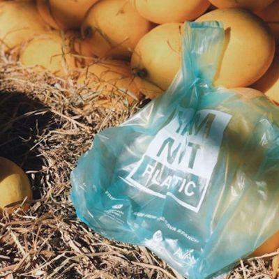 Crean bolsas de yuca que pueden ser comidas por los peces en el mar