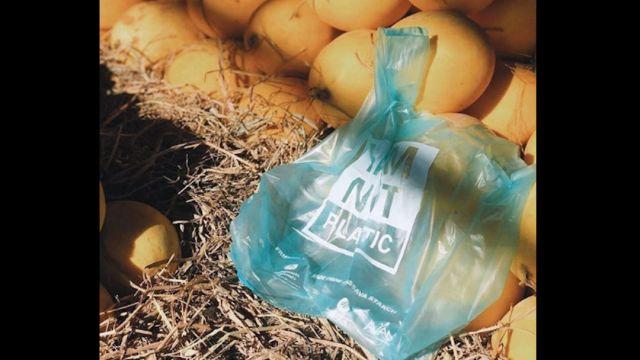 Foto Crean bolsas que se convierten en comida para peces al caer al mar 15 enero 2020