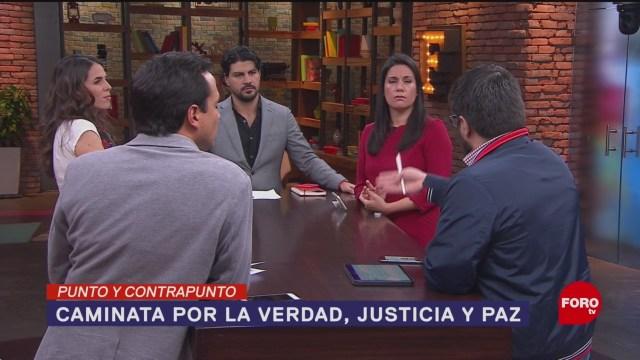 Foto: Caminata La Verdad Justicia Paz 22 Enero 2020