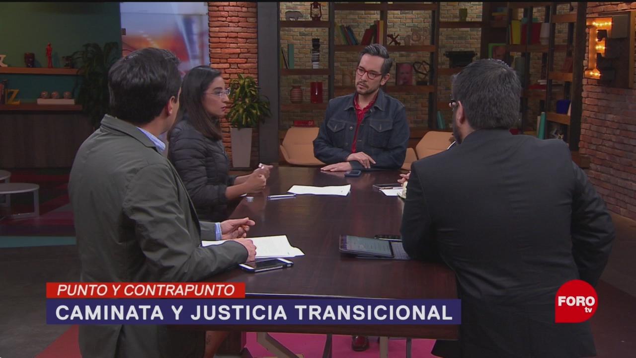 Foto: Caminata Verdad Justicia Paz Justicia Transicional 28 Enero 2020
