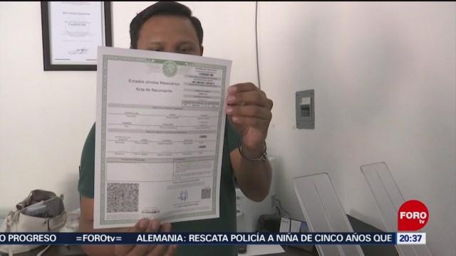 Foto: Campeche Emite Actas Nacimiento Sistema Braille 13 Enero 2020