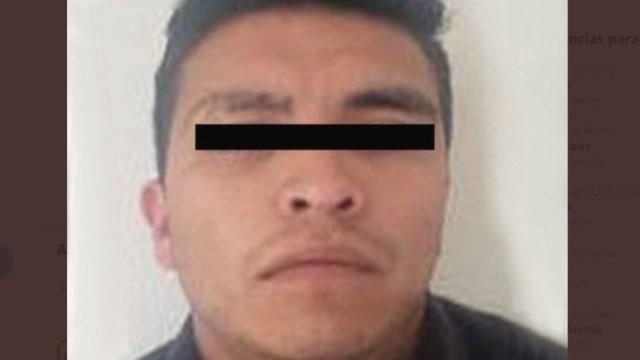 Foto: Ricardo Alberto 'N', fue señalado como presunto responsable de un feminicidio perpetrado en el municipio de Ixtapaluca