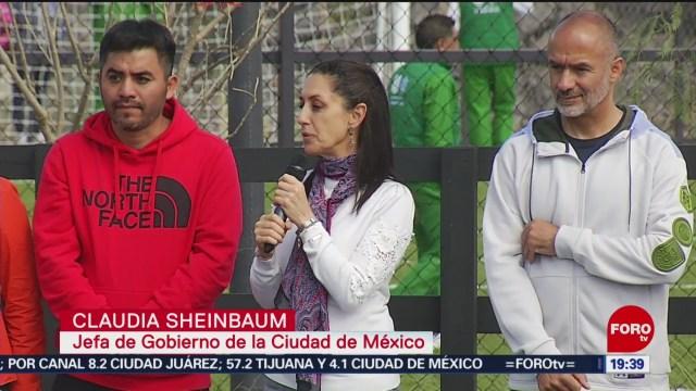 FOTO: 26 enero 2020, claudia sheinbaum inaugura parque la cantera