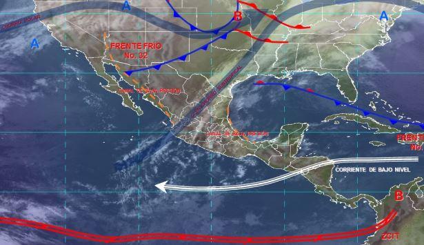 Foto: Imagen de fenómenos meteorológicos significativos de las 06:00 horas, 18 enero 2020