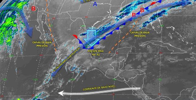 Foto: Imagen de fenómenos meteorológicos significativos de las 06:00 horas, 19 enero 2020