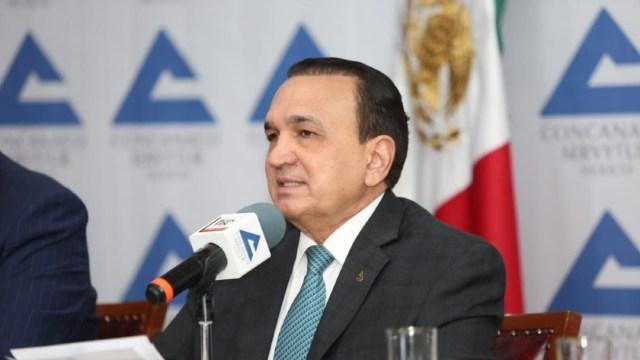 Foto: José Manuel López Campos, presidente de la Confederación, aseguró que la seguridad es uno de los grandes pendientes del Gobierno Federal