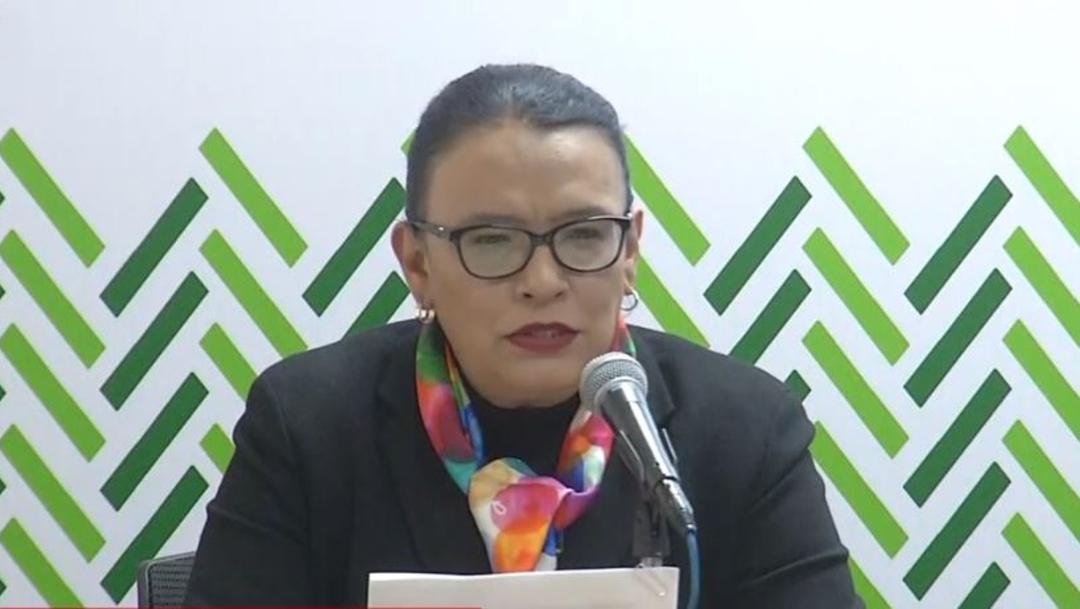 Mensaje de la conferencia de prensa de Rosa Icela Rodríguez