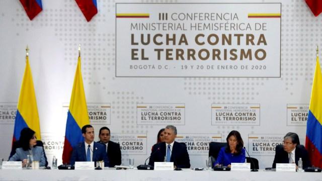 FOTO: Conferencia Ministerial Hemisférica de Lucha contra el Terrorismo, el 20 de enero de 2020