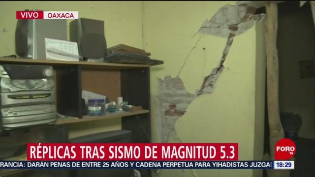 FOTO: continuan las replicas del sismo ocurrido este jueves en oaxaca