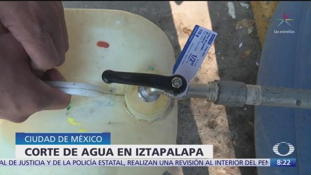 Foto: cortes de agua en iztapalapa comenzaran el 3 de enero