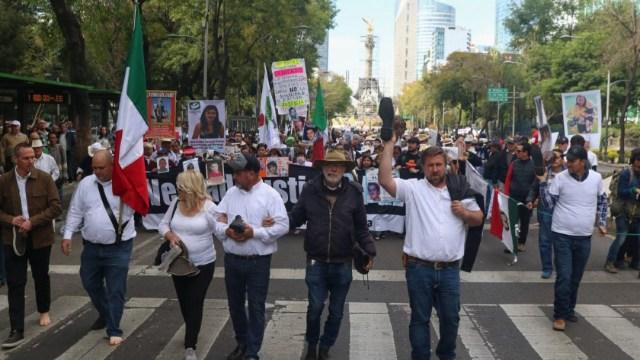 Foto: Caminata por la paz exige a AMLO cambiar estrategia contra crimen, 18 de enero de 2020, (Cuartoscuro)