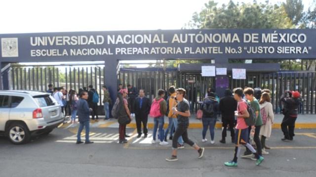 Foto: Encapuchados toman las instalaciones de la Prepa 3 de la UNAM, 22 enero 2020