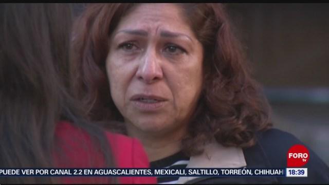 FOTO: 3 enero 2020, deportan a madre de militar en estados unidos