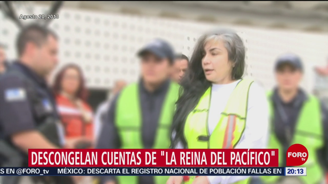 Foto: Descongelan Cuentas Sandra Ávila Beltrán Reina Pacifico 16 Enero 2020